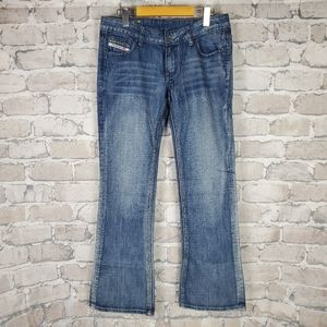 Diesel Jeans Zatiny Low Rise Bootcut W31/L32